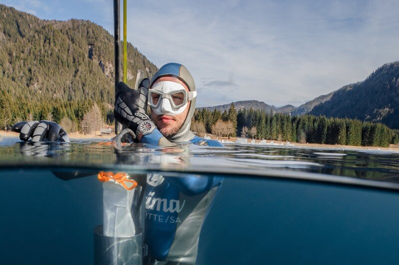 Taking the Tutima M2 Pioneer into Icy Depths for a New World Record