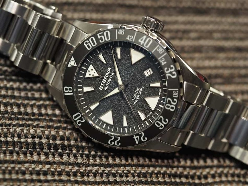 The Eterna KonTiki Diver – A Serious New Entrant In The Dive Watch Category