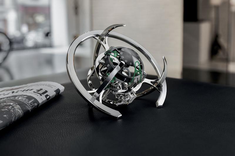 The New MB&F x L'Epée Starfleet Explorer Clock