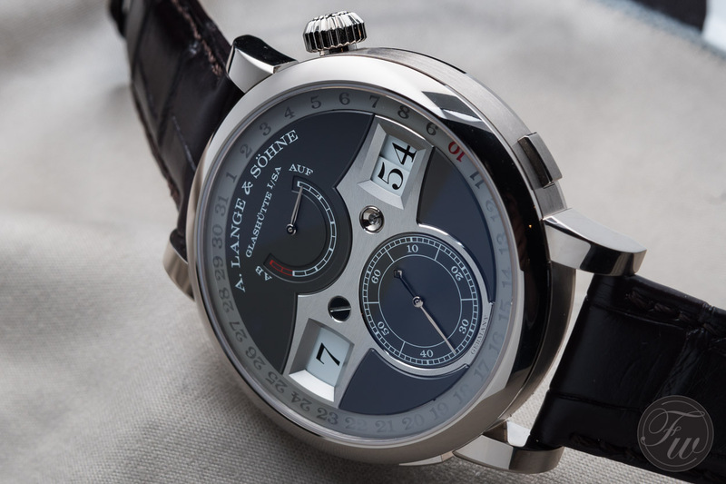 Up Close With The A. Lange & Söhne Zeitwerk Date