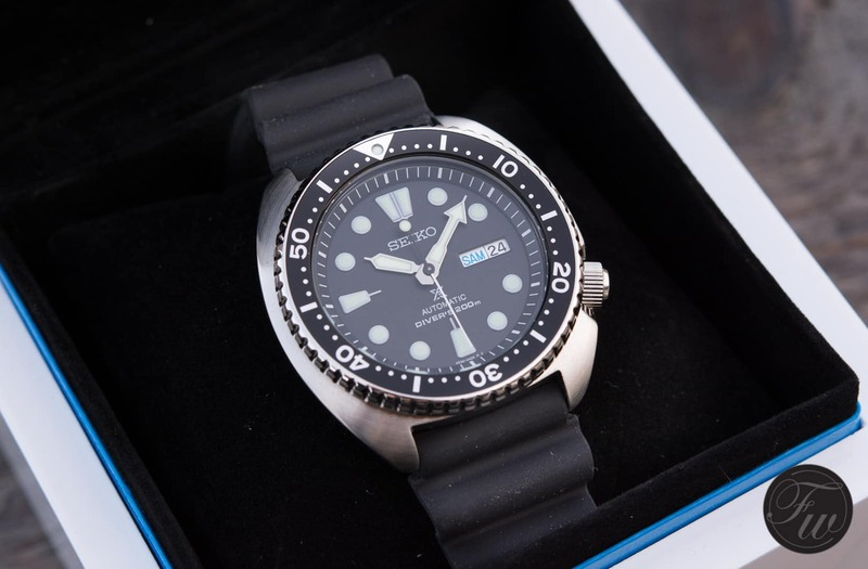 """Watch Giveaway – SEIKO SRP777 """"Turtle"""""""