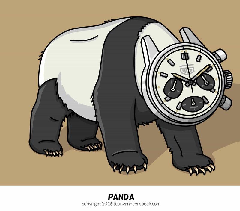 Watches & Pencils #16 – Panda Dials