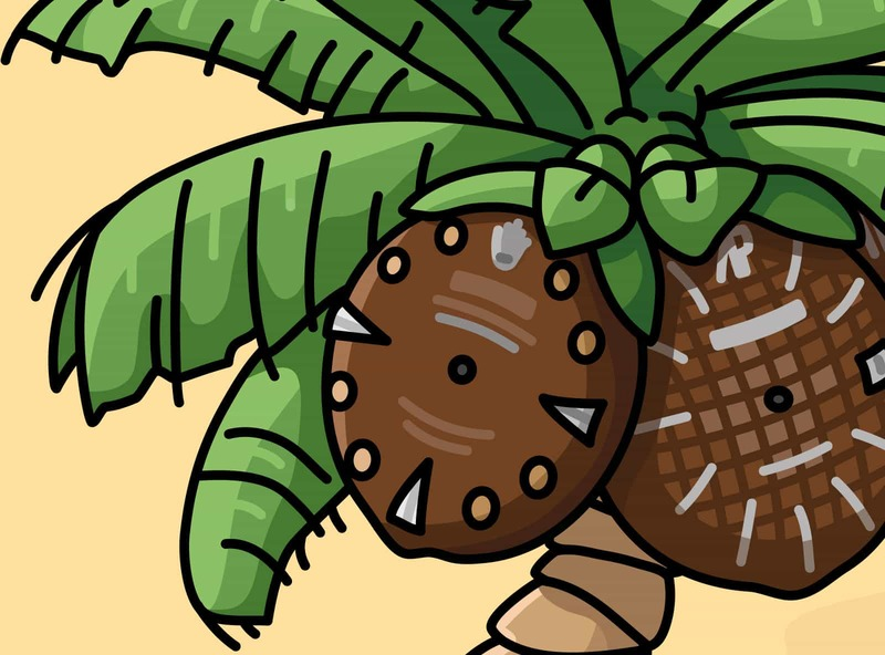 Watches & Pencils #35 – Tropical Dial