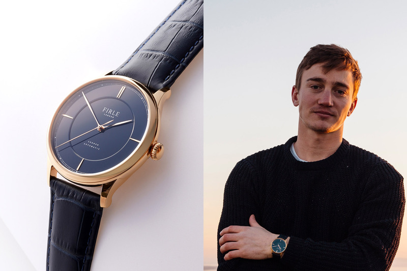 Will Martin of Firle Watches, on Launching his Brand and Enamel Dial Watch