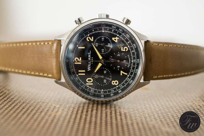 William L. 1985 Automatic Chronograph: The perfect budget chronograph?